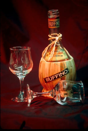 Ruffino Bottle by Frank Kirby