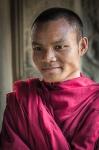 Cambodian Monk by Don Spillar