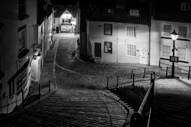 Whitby night by Phil Newport