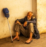 Destitute in Morocco by Dave Connell